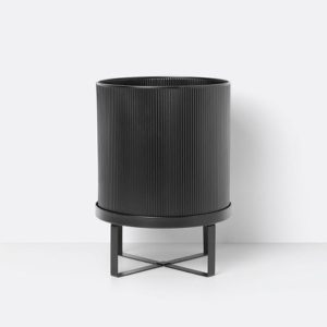 BAU Pot Black Large