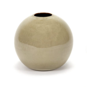 Ball Vase Anita L Misty Grey