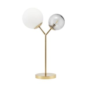 Bordlampe Twice Brass
