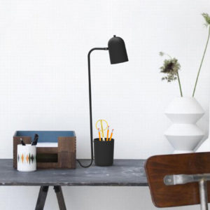 Buddy Bordlampe Dark Grey
