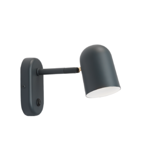 Buddy vegglampe Dark Grey