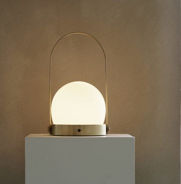 Carrie Led Lamp Brass