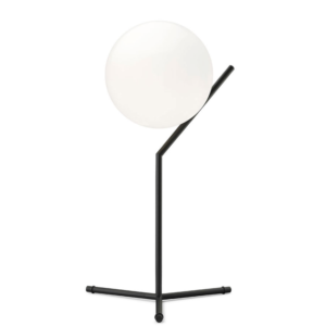 FLOS IC T1 High bordlampe, Svart