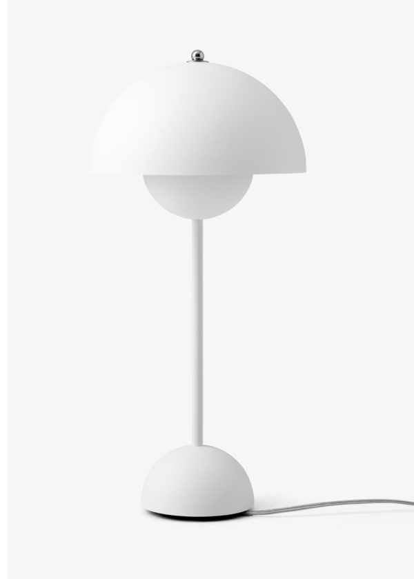 Flower Pot Table Lamp VP3 Matt White