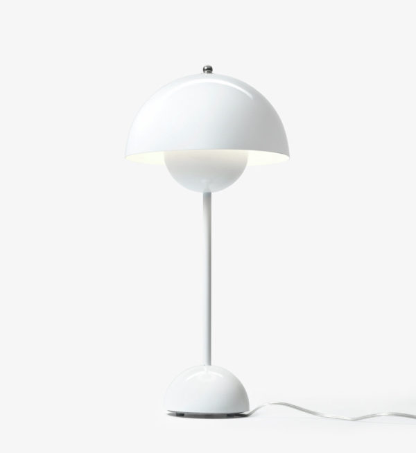 Flower Pot Table Lamp VP3 White