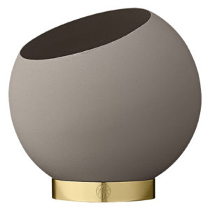 Globe Blomsterpotte Taupe