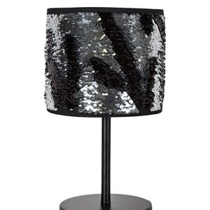 Globen Lighting Bordlampe Bling - Krom/svart
