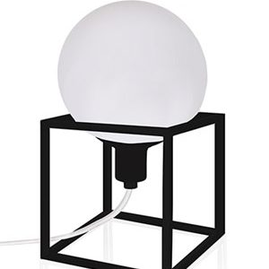 Globen Lighting Bordlampe Cube Svart