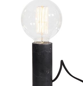 Globen Lighting Bordlampe Marble Svart