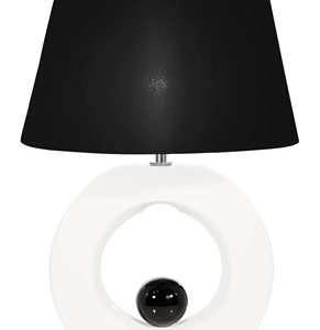 Globen Lighting Circle Bordlampe Hvit
