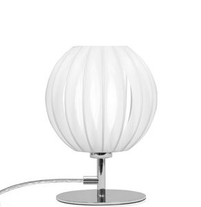 Globen Lighting Plastbånd Bordlampe Mini Krom