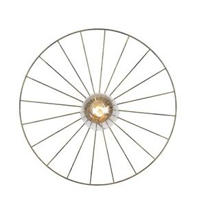 Globen Lighting Taklampe Wheel - Antik messing