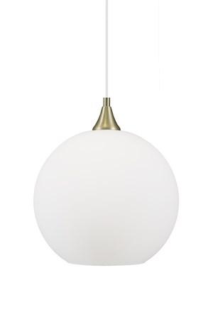 JUST LIGHT Bowl Taklampe Hvit