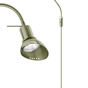 JUST LIGHT Gulvlampe Ingo Antikkmessing
