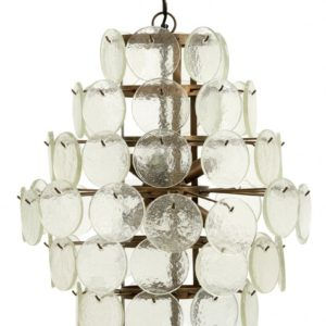 Lampe Glass Chandelier