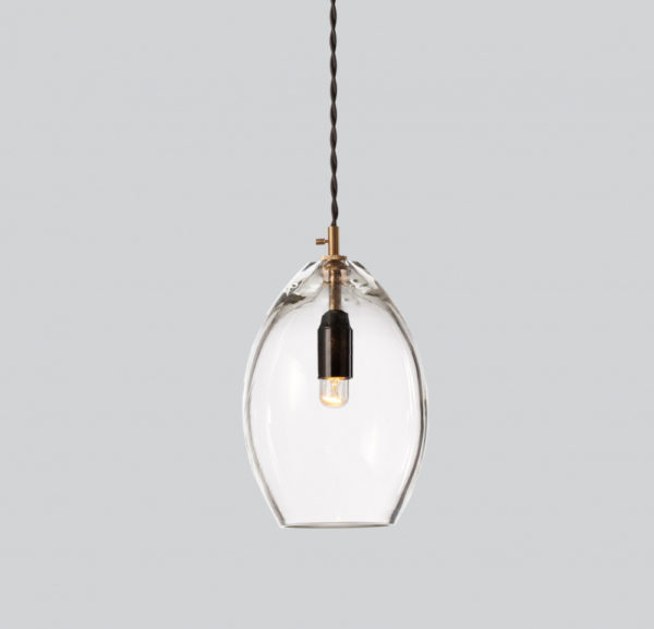 Unika Taklampe Transparent - Large