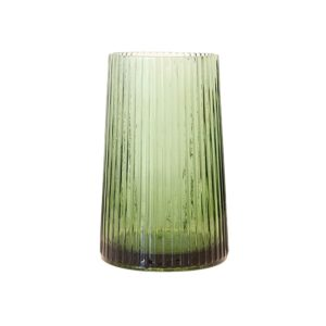 Vase Green Glass M