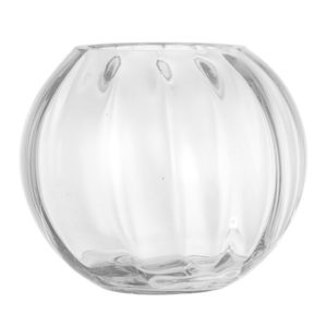 Bloomingville Vase Clear Glass Ø18x15 cm