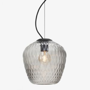 Blown lampe Grey small