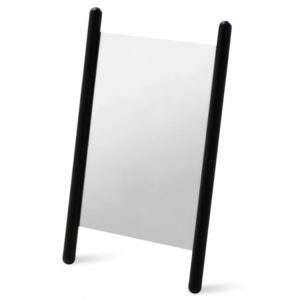 Georg Table Mirror, Svart