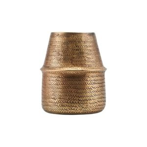 House Doctor Krukke Rattan Brass 19 cm