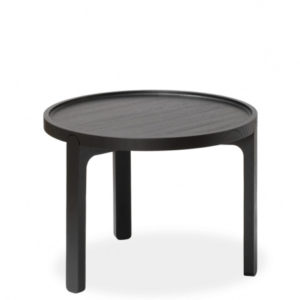 Inskud Tray Table, 48 cm, Svart