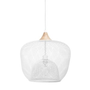 Bloomingville Taklampe Metal White