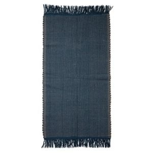 Bloomingville Teppe Cotton Blue 160x80 cm