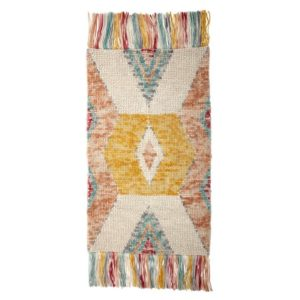 Bloomingville Teppe Wool Multi 150x90 cm