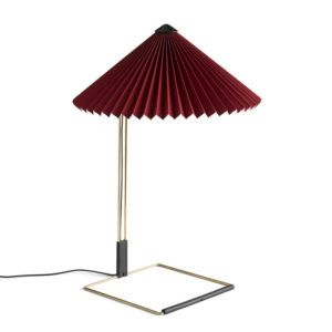 Bordlampe Matin Oxide Red
