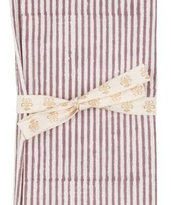 Chamois Serviett Stripe 2st - Ruby