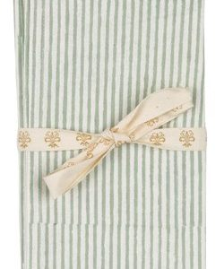 Chamois Serviett Stripe 2st - Sea Foam