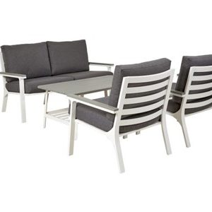 Easy living by Martinsen Trento Sofagruppe 2 seter - Hvit
