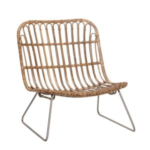 Hübsch Lounge chair kurvstol