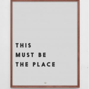 Low Key - Plakat - This must be the place