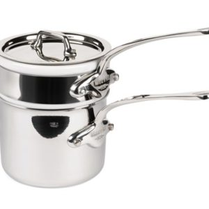 Mauviel Cook Style bain-marie blank stål 0,8 liter