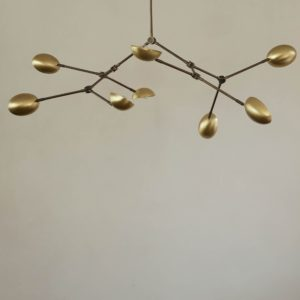 101 Copenhagen - Taklampe Drop Chandelier - Messing