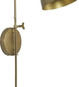 Brighton Vegglampe Messing 63 cm