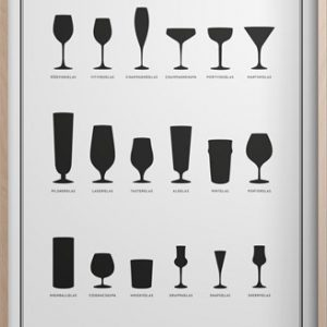 Glass Poster 30x40 cm