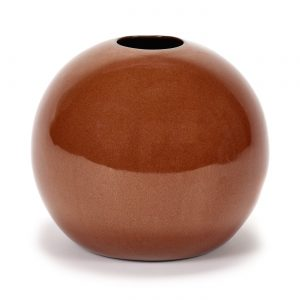 Ball Vase Anita XL Rust