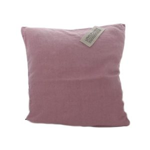 Lovely linen putetrekk – Old rose