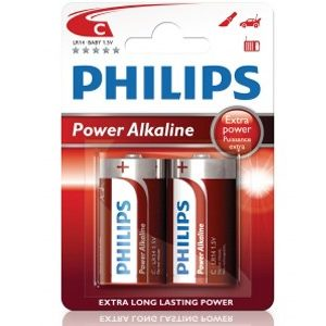 Fashion Power Alkaline C LR14 2-pakning