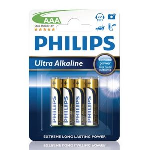 Fashion Ultra Alkaline AAA 4-pakning
