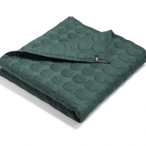 Sengeteppe Mega Dot Dark Green 235x245