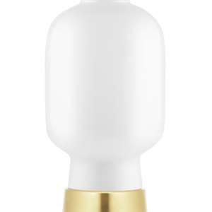 Amp Table Lamp White / Brass