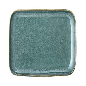 Aime Plate, Green, Stoneware