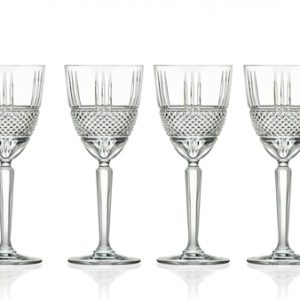Hvitvinsglass Brillante 23 cl 4-pack