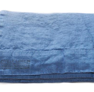 Lovely linen sengetøy – Denim blue