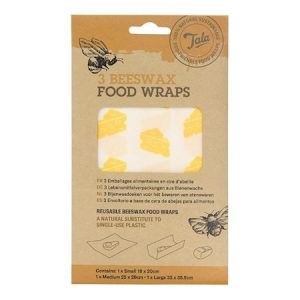 Tala Cheese Food Wax Wraps sett med 3