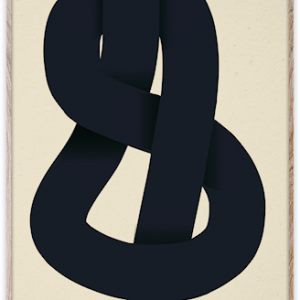 The Knot Poster 30x40 cm